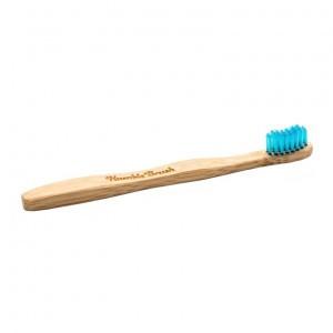 Humble Brush Bamboe tandenborstel blauw