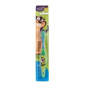 Brush Baby Flossbrush Groen/Blauw 3-6 jaar