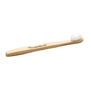 Humble Brush Bamboe kindertandenborstel wit