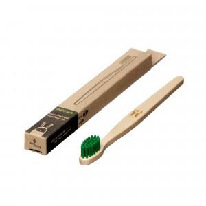 Ecoliving Tandenborstel voor kinderen (Soft) Konijn Groen