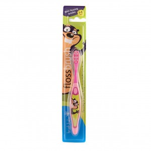 Brush Baby Flossbrush Roze 3-6 jaar