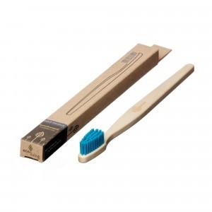 Ecoliving Tandenborstel voor volwassenen (Medium) Blauw