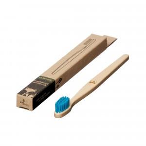 Ecoliving Tandenborstel voor kinderen (Soft) Vos Blauw