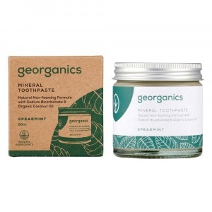 georganics Natural Tandpasta - Spearmint (60 ml)