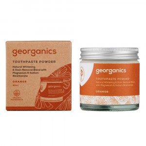 georganics Tandpoeder - Orange (60 ml)