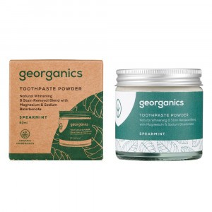 georganics Tandpoeder - Spearmint (60 ml)