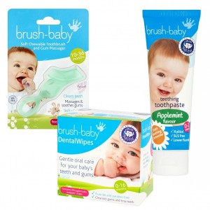 Brush Baby Baby Tandverzorgingsset