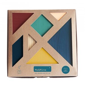 "Me and Mine Houten Tangram ""Earth"""