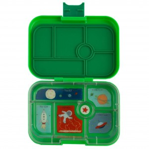 Yumbox Original Terra Green met Tray Rocket