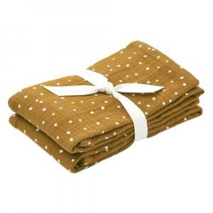 Liewood Tetradoeken (2 pack) Confetti Olive