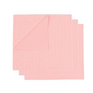 Mundo Melocoton Tetradoek Klein Set van 3 Roze