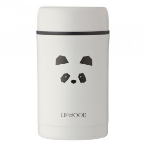 Liewood Thermosbox (500 ml) Panda Light Grey