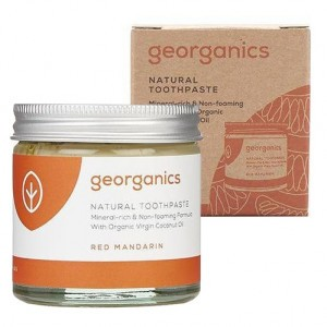 georganics Natural Tandpasta - Red Mandarin (60 ml)