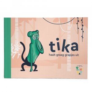 Yumi Yay Voorleesboekje Tika haalt graag grapjes uit