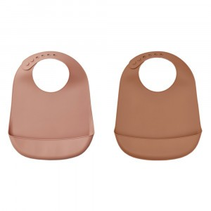 Liewood Silicone Slab Terracotta Mix (2 pack)