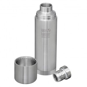 Klean Kanteen Thermos Insulated TKPro (1 liter) Brushed Stainless