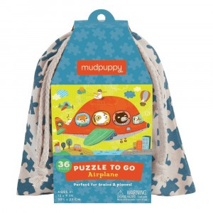 Mudpuppy Puzzel To Go Airplane (36 stukken)