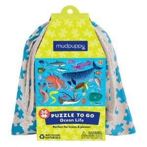 Mudpuppy Puzzel To Go Ocean Life (36 stukken)