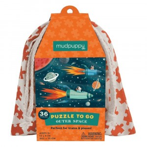 Mudpuppy Puzzel To Go Outer Space (36 stukken)