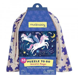 Mudpuppy Puzzel To Go Unicorn Magic (36 stukken)