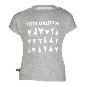 nOeser Tom Hipster Teeth Shark Grey Baby