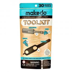 Makedo Bouwen met Karton Toolkit