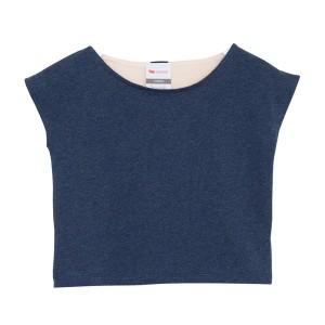 L'Asticot T-Shirt Heather Blue-Nude