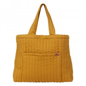 Fabelab Quilted Tote Bag Ochre