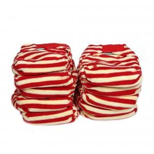Voordeelpakket Totsbots Bamboozle Stretch Berry maat 1 (10 stuks)