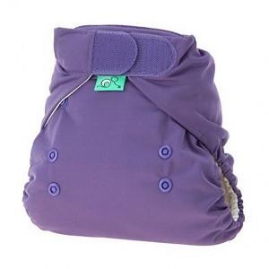 Totsbots Stretchywrap Paars maat 1 (2,7-8kg)