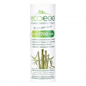 Ecoegg Bamboo Keukendoekjes (Uitwasbaar)
