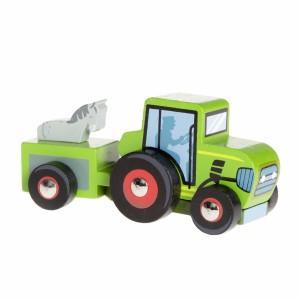Le Toy Van Kleine Tractor Groen