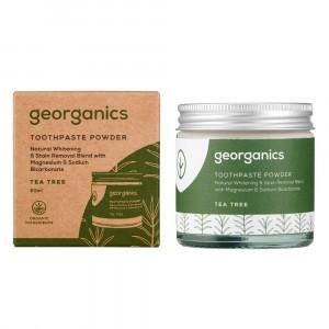 georganics Tandpoeder - Tea Tree (60 ml)
