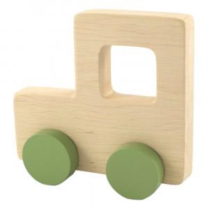 Pinch Toys Houten Duwfiguur Maxi Tractor