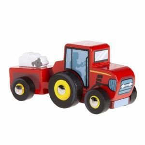 Le Toy Van Kleine Tractor Rood