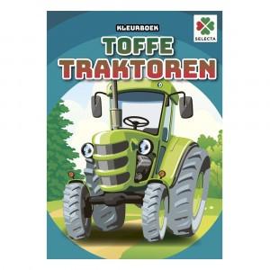 Selecta Kleurboek Toffe Traktoren