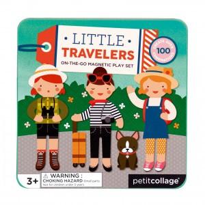 Petit Collage Magneetpuzzel Kleine Reizigers