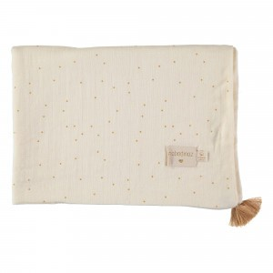 Nobodinoz Treasure Summer Dekentje (70 x 100cm) Honey Sweet Dots