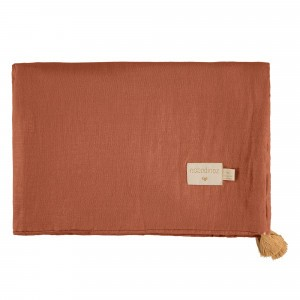 Nobodinoz Treasure Summer Dekentje (70 x 100cm) Toffee