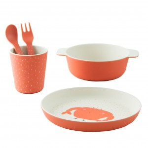Trixie Bamboo Eetset Mrs. Crab
