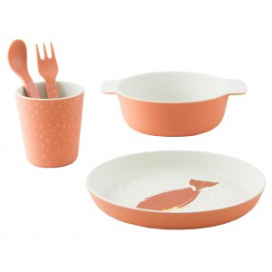 Trixie Bamboo Eetset Mr. Fox