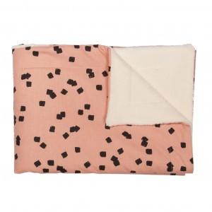 Trixie Fleece Dekentje dubbel Squares 100 x 150 cm