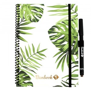 Bambook Uitwisbaar Whiteboard Schrift - Softcover Combi A5 Tropical