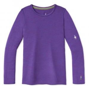 Smartwool Thermisch Ondergoed Kids Merino 250 Shirt met lange mouwen - Desert Orchid Heather