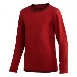 Woolpower Thermisch Ondergoed Shirt met lange mouwen - Autumn Red