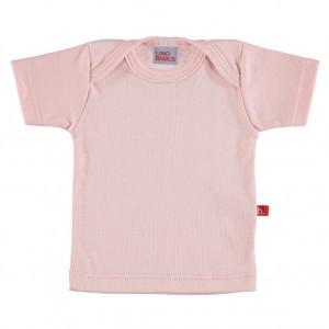 Limobasics T-shirt met korte mouwen Licht Roze