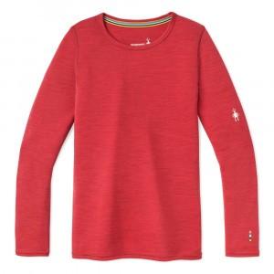 Smartwool Thermisch Ondergoed Kids Merino 250 Shirt met lange mouwen - Pomegranate Heather