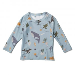 Liewood UV T-shirt lange mouwen Sea Creature Mix