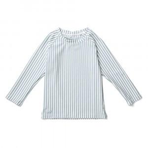 Liewood UV T-shirt lange mouwen Sea Blue/White