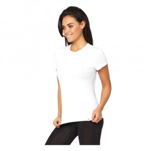 Boody Dames T-shirt Ronde Hals Wit